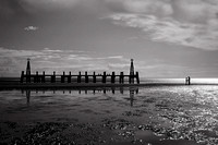 The pier at St Annes, UK